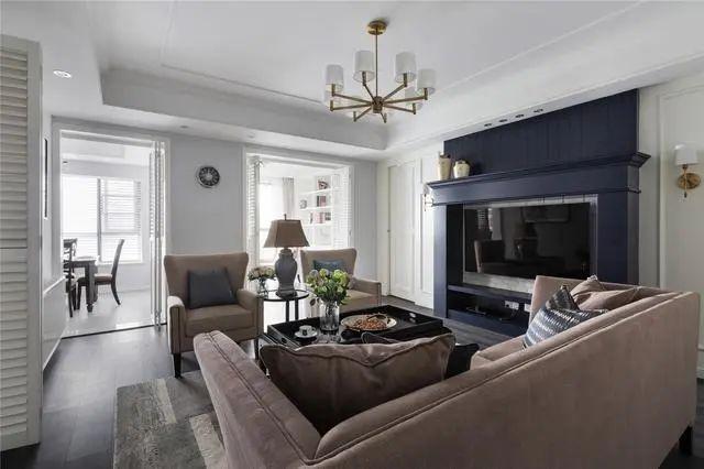 现代美式风新房装修图,演绎精致优雅的小情调!