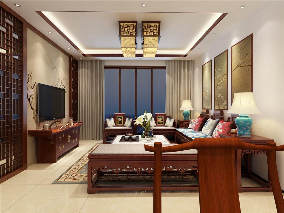溫馨小居室現代風格家裝案例