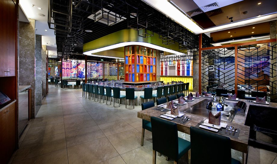 鐵板燒餐廳