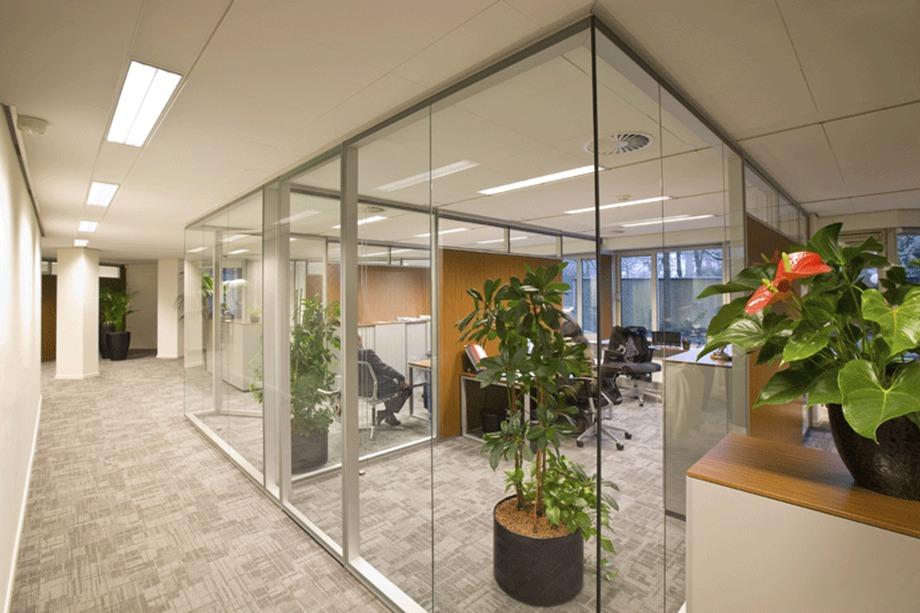办公室装修中,隔断也能环保?
