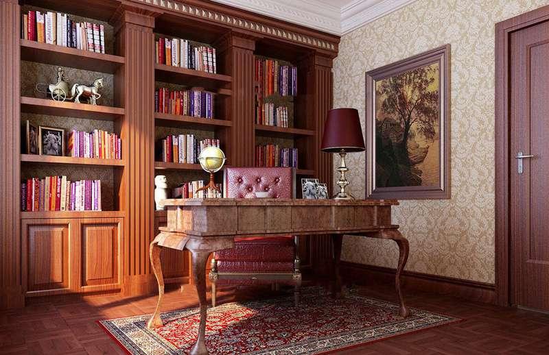 漢中聚佰利裝飾教您書房裝修的4大技巧