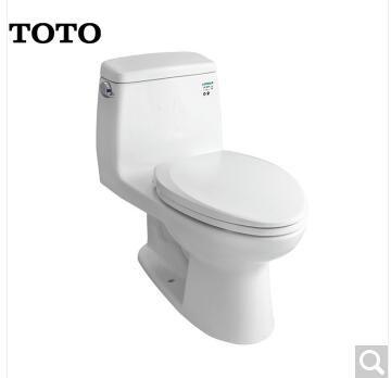 漢中TOTO衛浴 4.8L連體坐便器抽水馬桶智潔連體座便器防堵節水馬桶