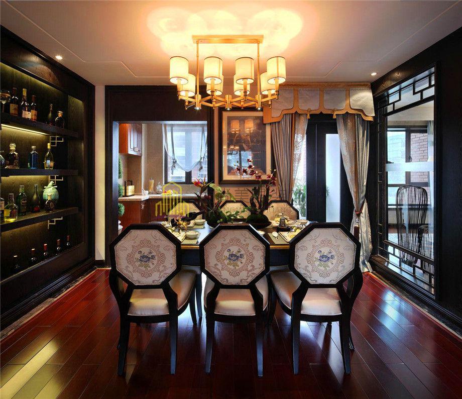 【九龍新城 新中式 178平】室內色彩設計原則