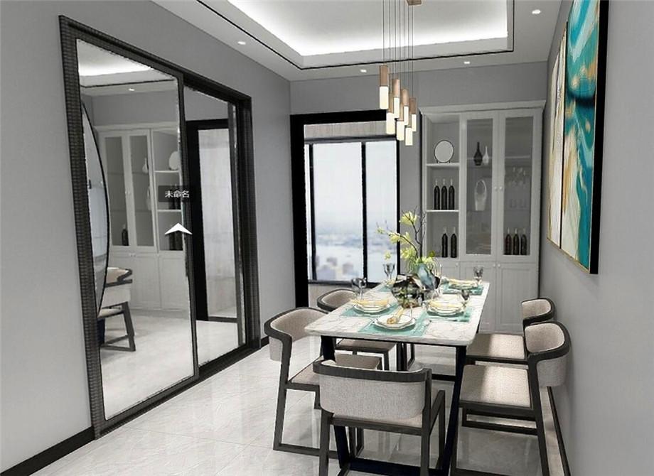 【尚景苑 現代簡約 116平】想要一個舒適的就餐環境,5個餐廳裝修小竅門送給你