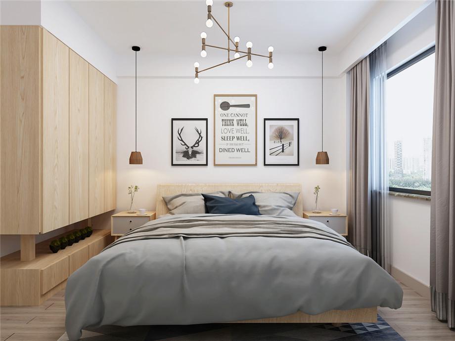 北海装修案例卧室