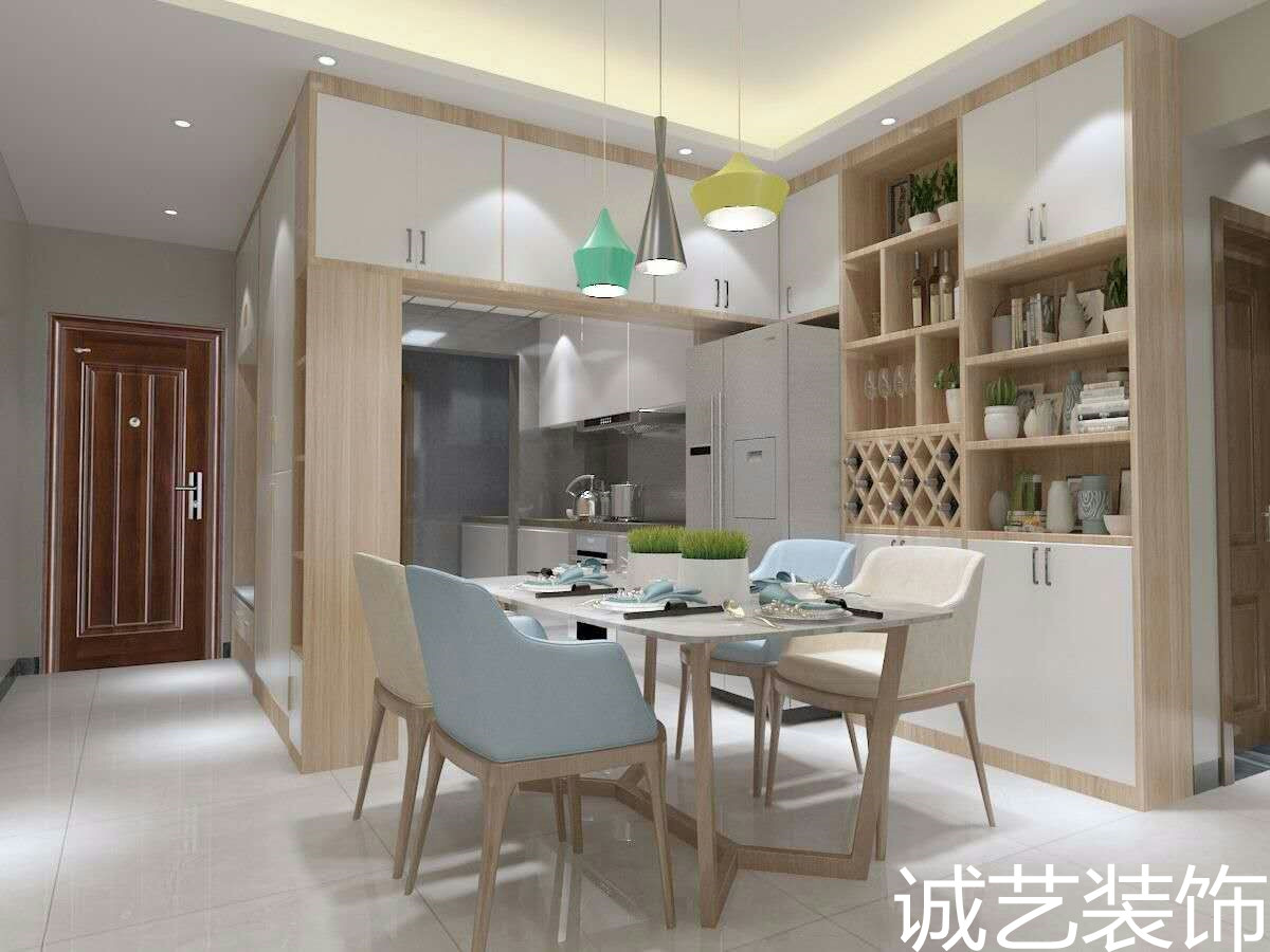 北海装修案例东峰世纪公寓