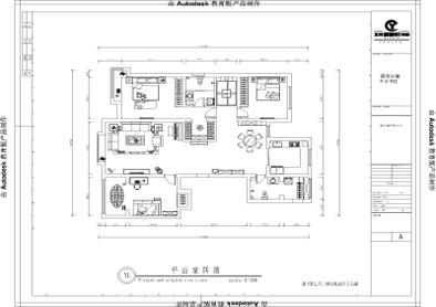 张家口装修案例滨河公馆现代风格