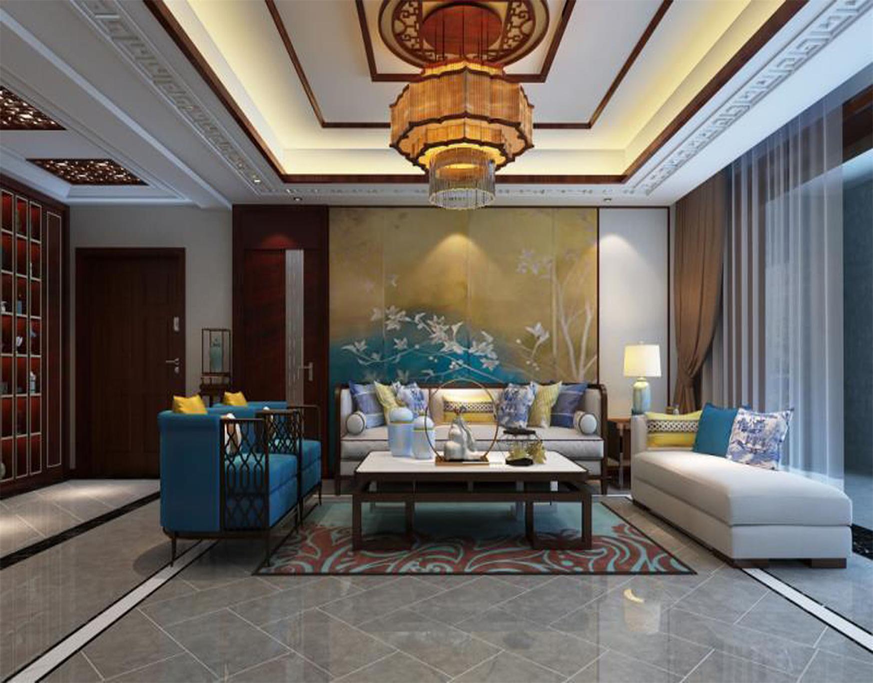 廊坊装修案例新世界新中式风