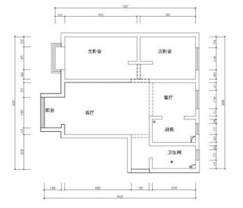 廊坊装修案例盛德廊悦府新中式