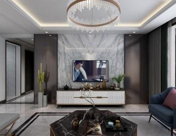 张家口装修案例长龙国际现代简约风格