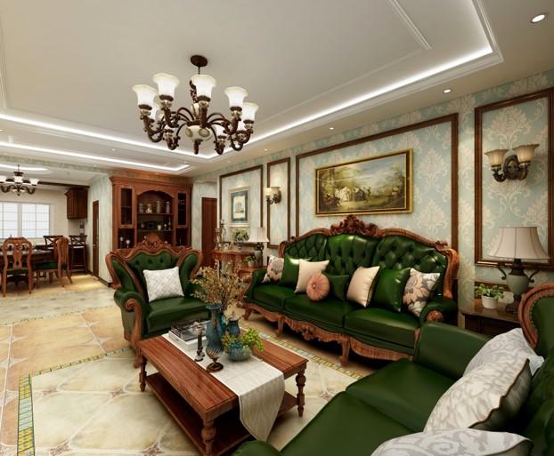 张家口装修案例碧桂园古典美风格