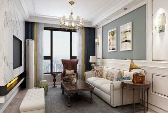 张家口装修案例盛华家园现代简约风格