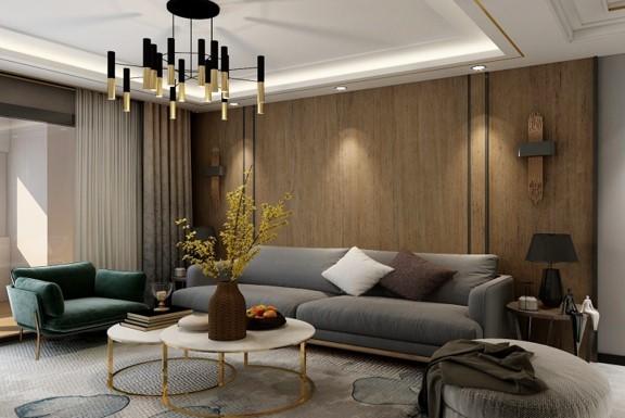 张家口装修案例桂碧园现代风格设计