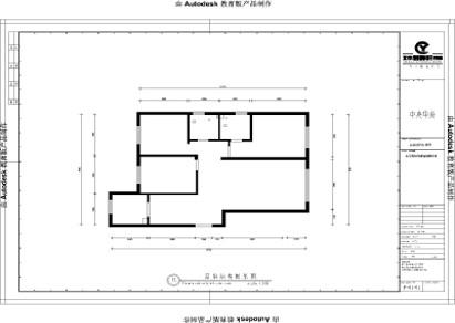 张家口装修案例中央华府简约欧式风格