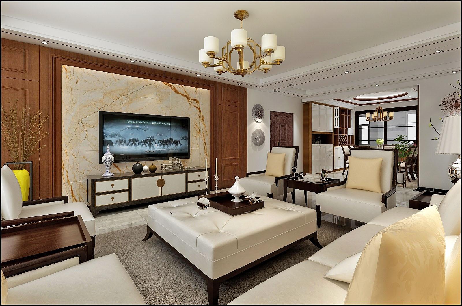 张家口装修案例凤凰城-中式风格