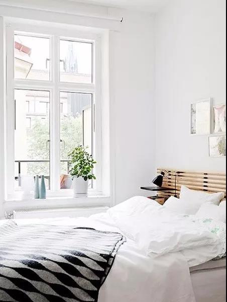 新房装修只刷大白墙,一样可以很高端。