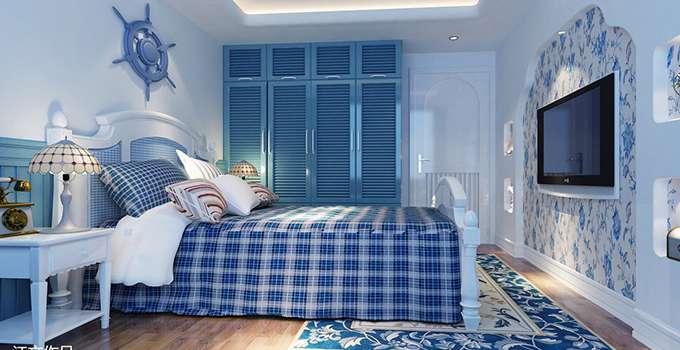 房间设计色彩搭配 体验一把蓝色家居