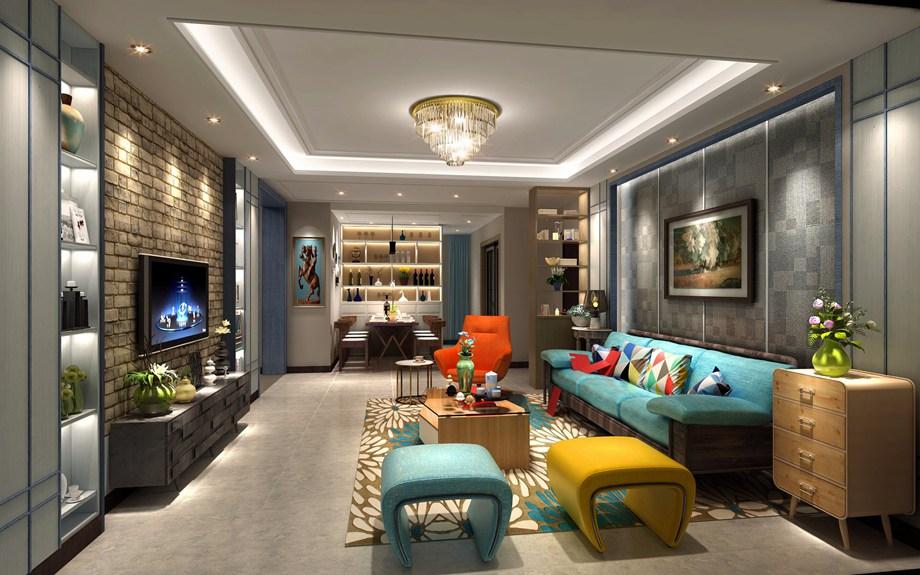 采光不好的客厅,怎样增加它的采光和亮度呢?