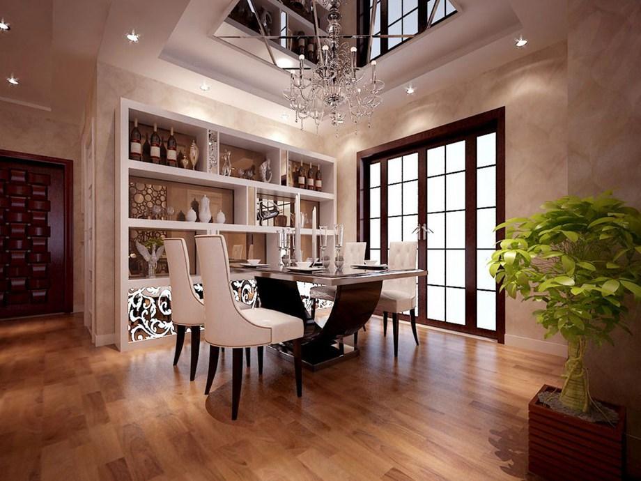 巧用玻璃镜让室内变宽敞