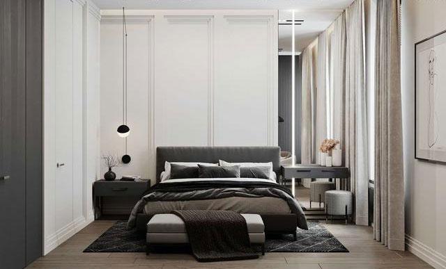 小户型房子可不可以用黑白设计?