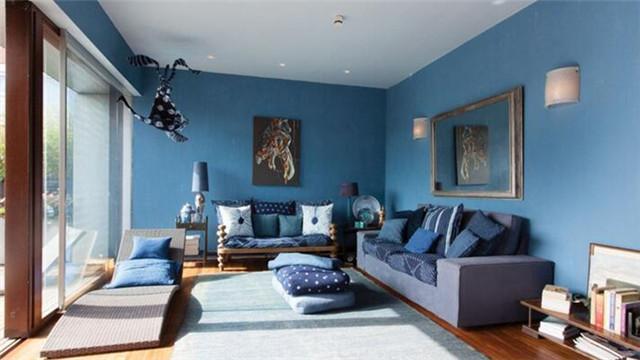 客厅装修乳胶漆用什么颜色好看?