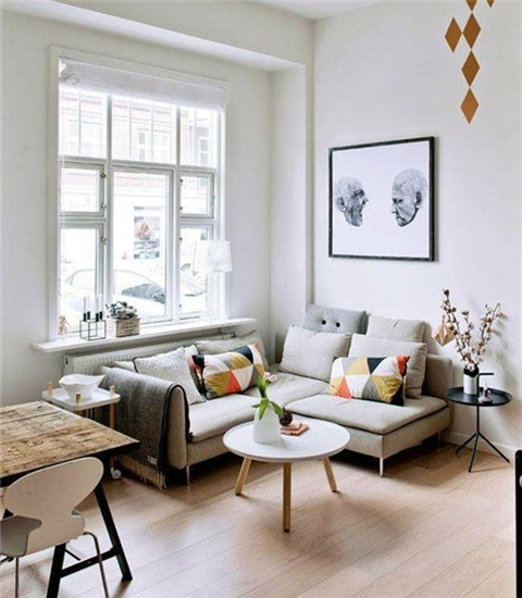 绝对实用:小客厅的布置诀窍!!