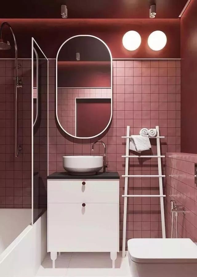 别样浴室设计,打造专属惬意空间!