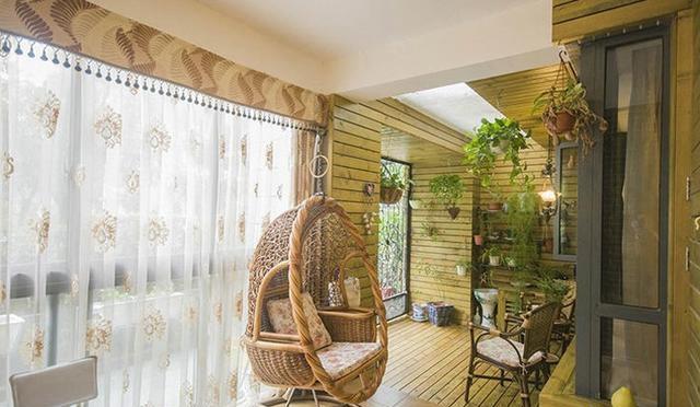 阳台空间规划,打造休闲生活