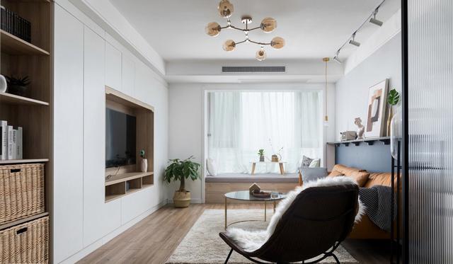 客厅电视背景墙装修一定要好看!6种设计方案最流行
