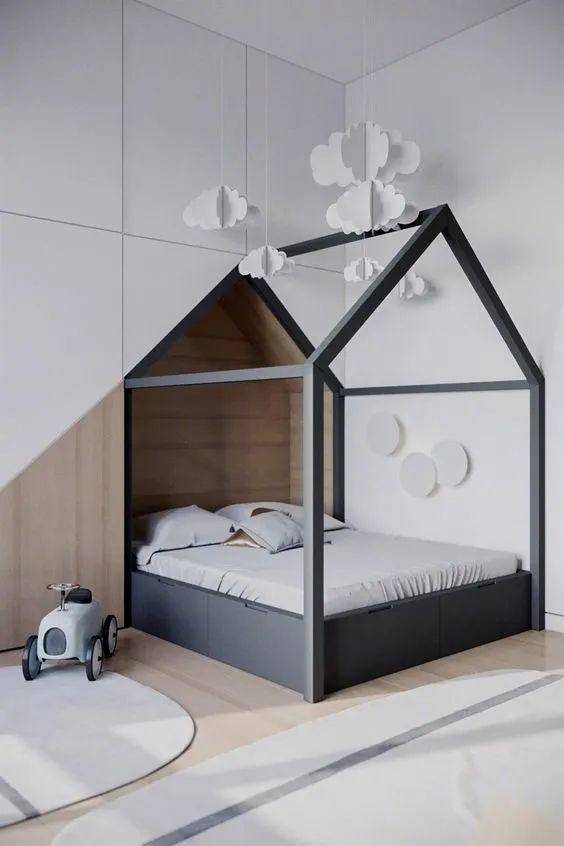 儿童房要这样设计 收纳才能翻一倍