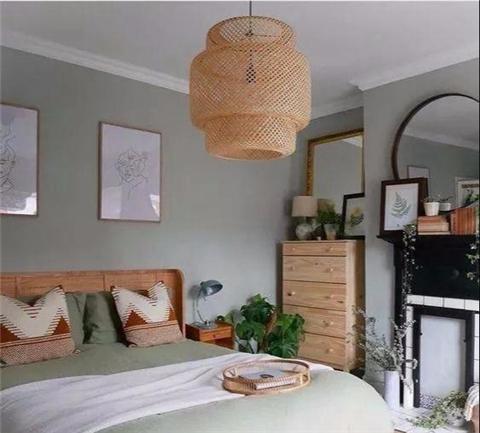 卧室墙面刷什么颜色好?通过多种搭配找出符合自己的风格!