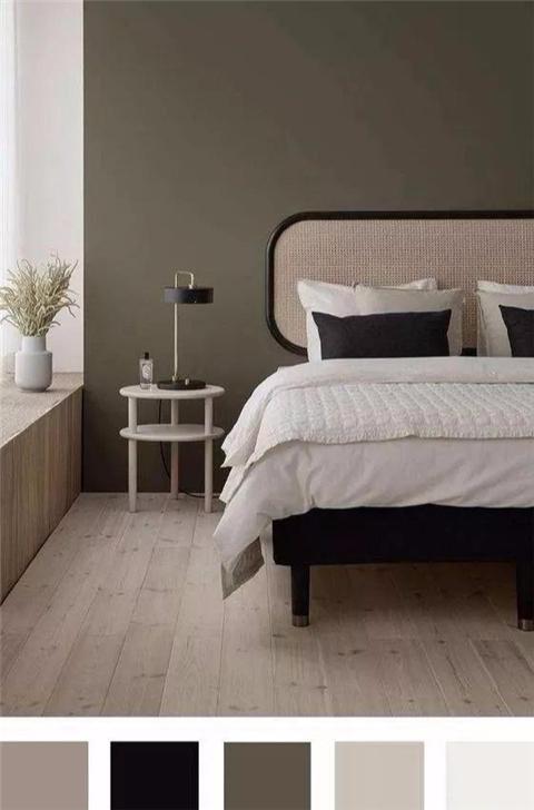 卧室刷什么色比较好 通过多种搭配找出自己style
