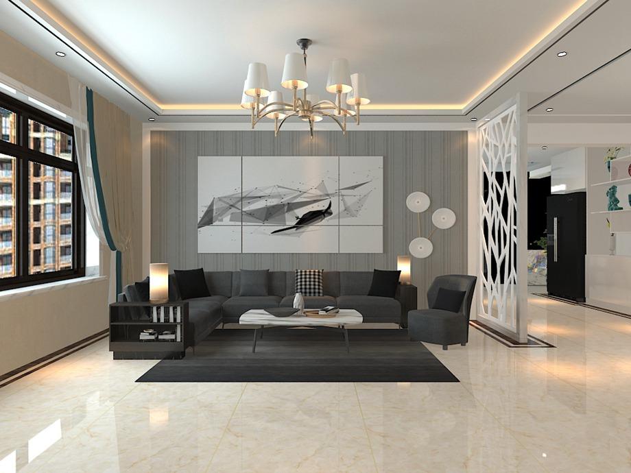 客厅铺贴瓷砖过程中需要注意的几个问题!