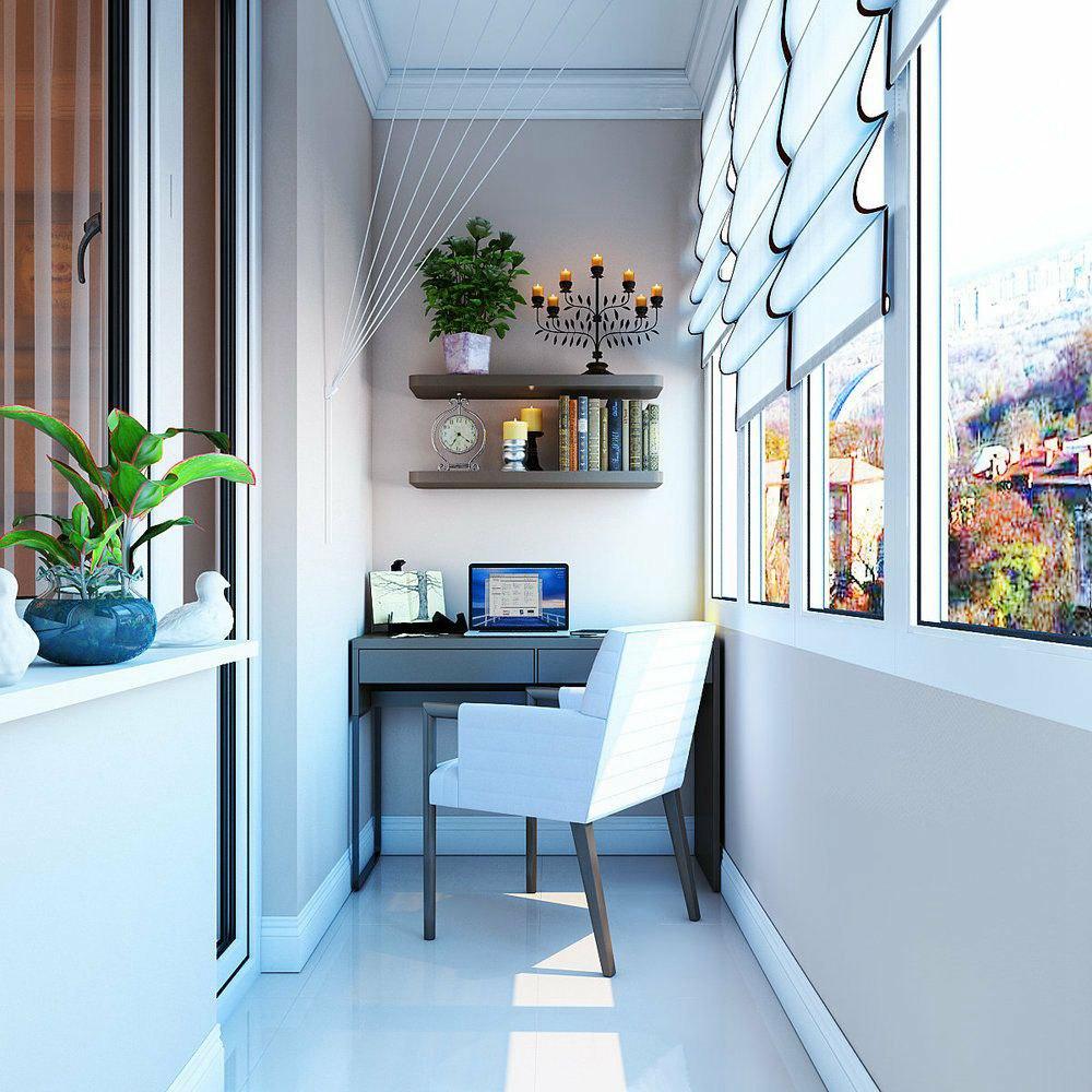 封闭式阳台这样设计,空间利用率更高!