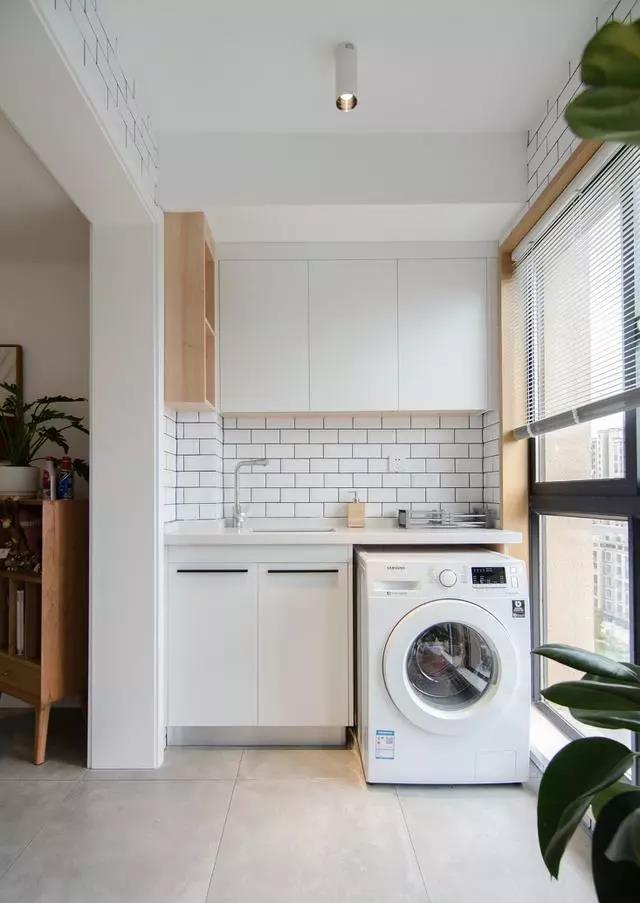 阳台就应该做个洗衣柜!