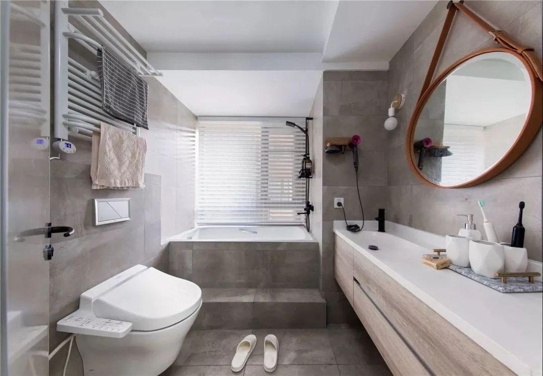 把家里卫生间设计得美一些,每天洗澡都有好心情