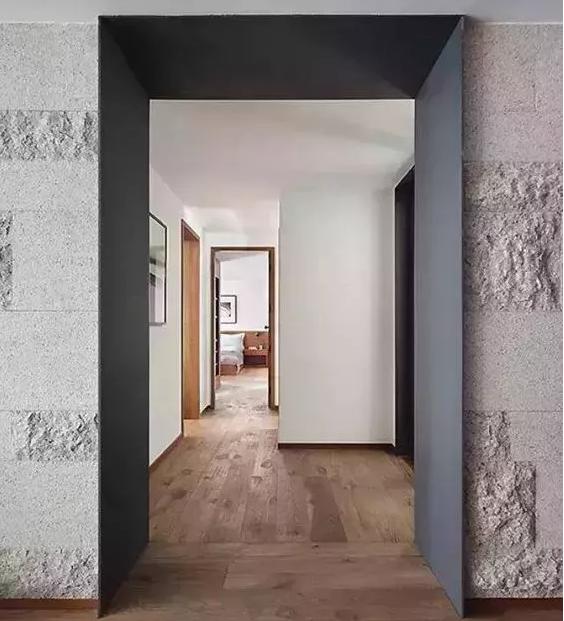 门洞设计丨门洞这样设计,连不起眼的小角落都能提升家的质感!
