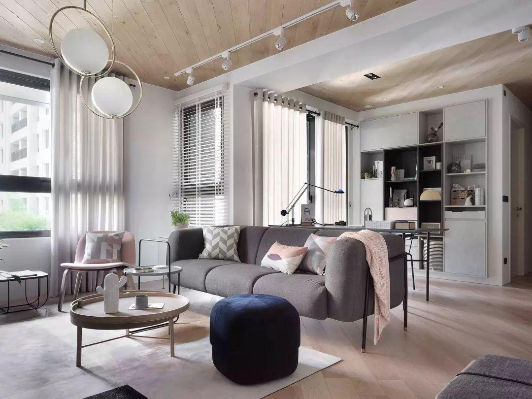 想要一个高颜值的客厅,你可以这样去搭配!