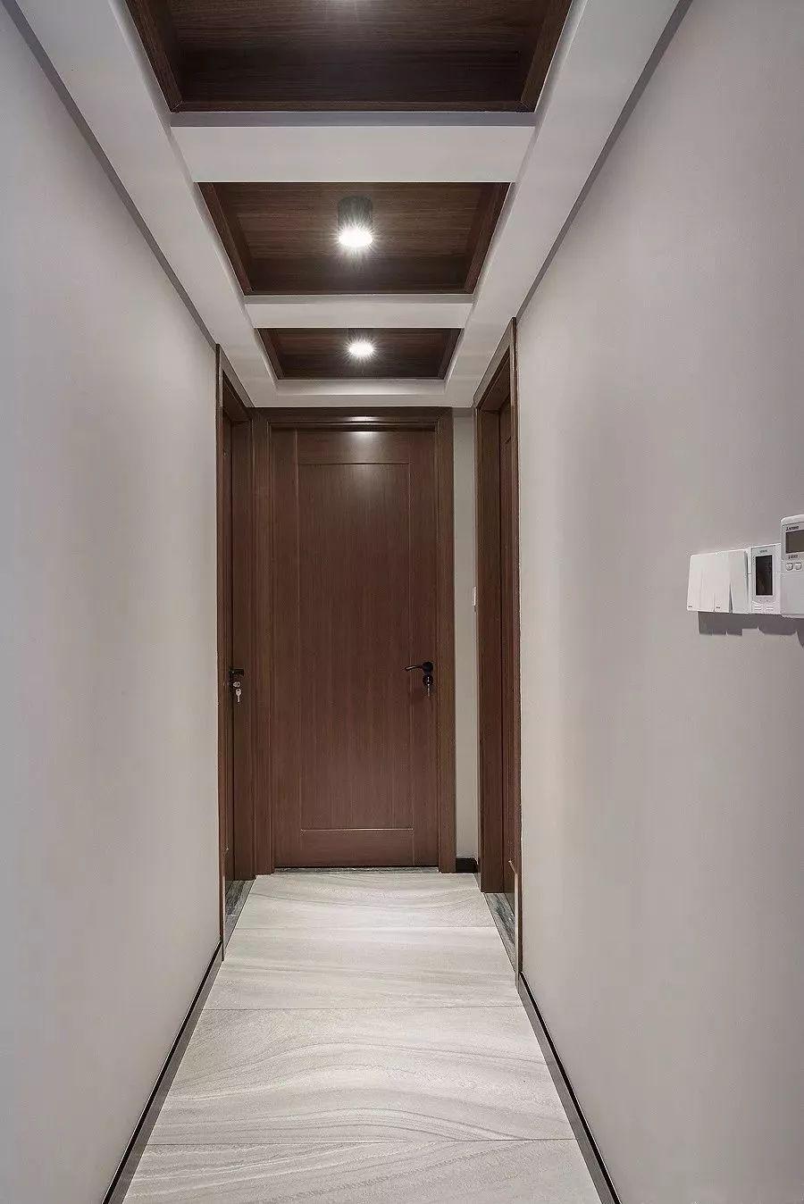 小空间怎么做吊顶?走廊过道这样做,看起来就很大气