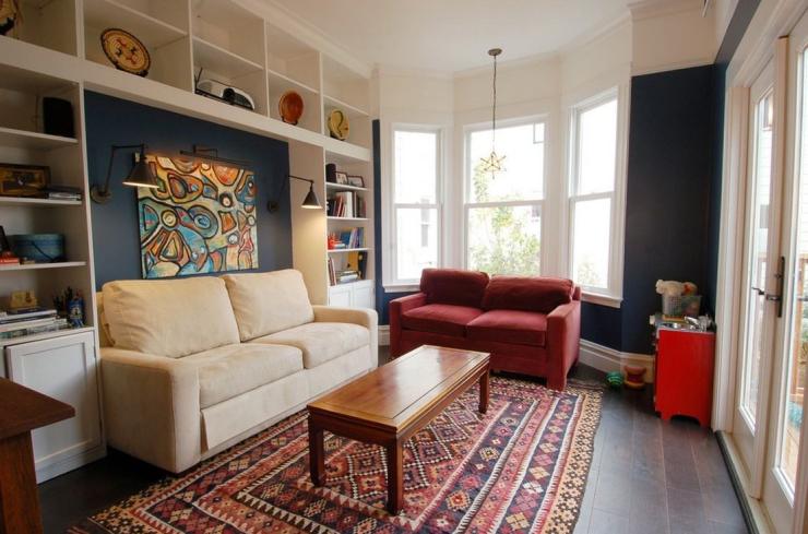 在装修设计中怎么实现小客厅变大