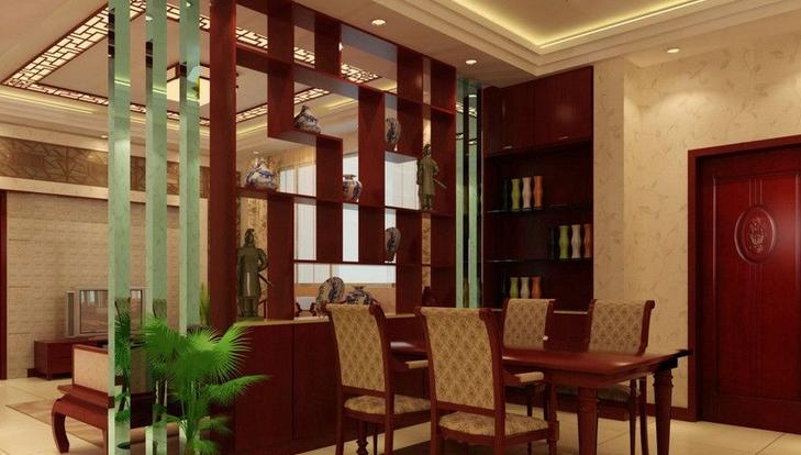 与你客厅完美结合的隔断设计