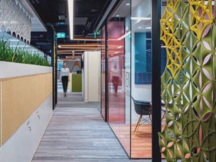 办公室装修设计千万不能忽视的走廊创意