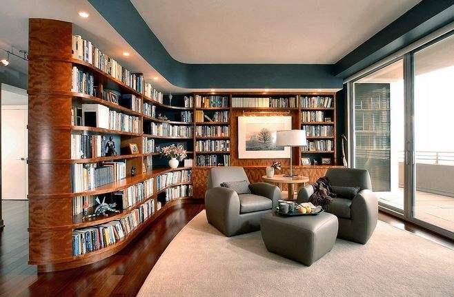书房装修什么颜色好,这几点书房配色技巧一定要知道