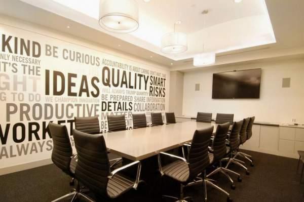 办公室会议室装修设计注意要点