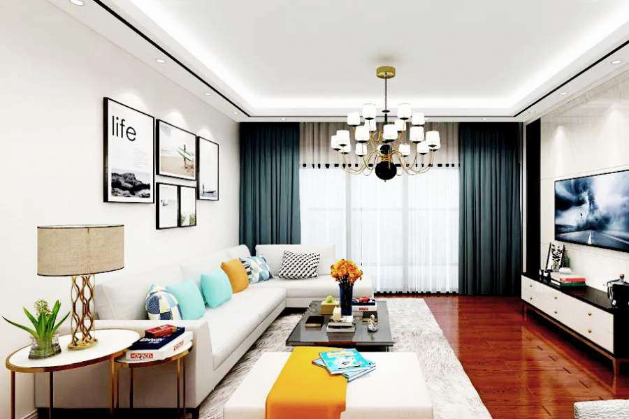 室内装修色彩搭配的原理和技巧
