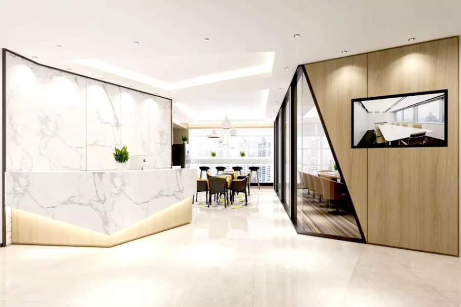 办公室大厅应该这样设计