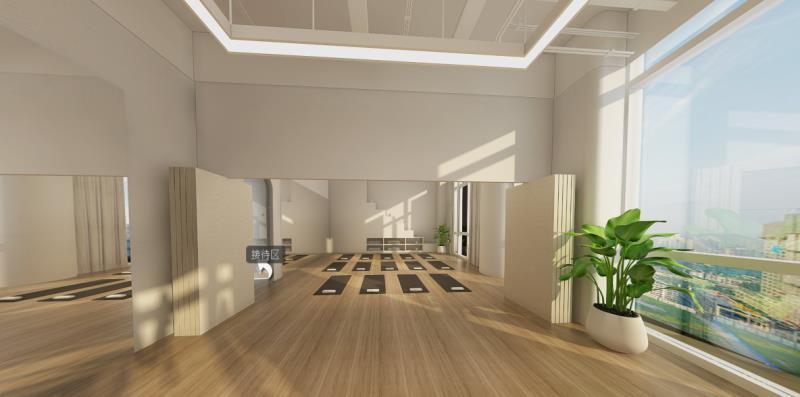 重庆装修案例元素瑜伽馆