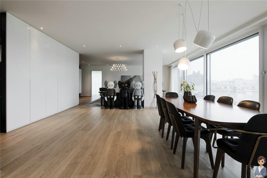 上海装修案例现代简约风格装修案例,简约而不简单的家居。