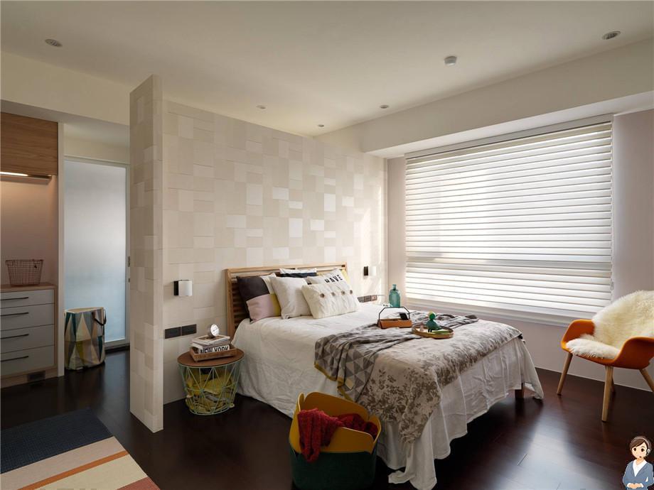绵阳文泉理想城邦家装案例-北欧风格装修108平米