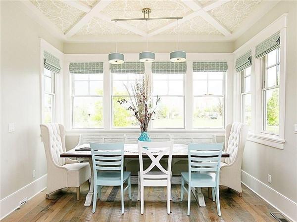 家庭餐厅墙面如何装饰比较好看?